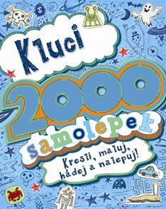 Kluci - 2000 samolepek