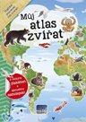 Můj atlas zvířat s velkým plakátem a spoustou samolepek