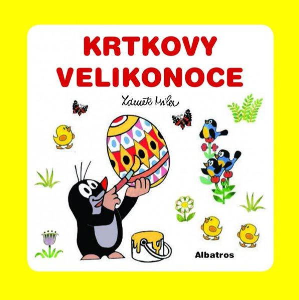 Krtkovy Velikonoce - Zdeněk Miler - 10x10 cm