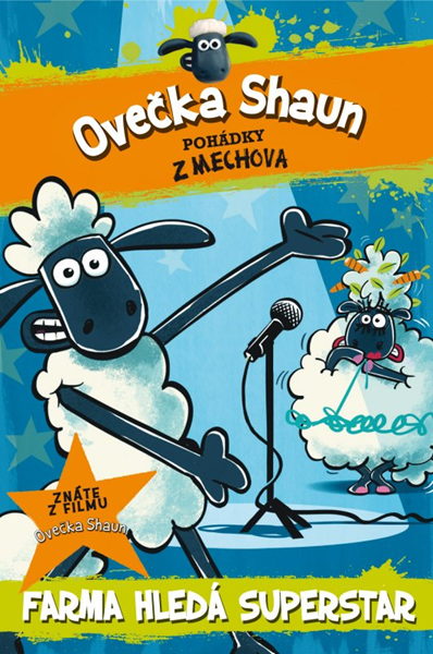 Ovečka Shaun: Farma hledá superstar - Martin Howard - 12x18 cm