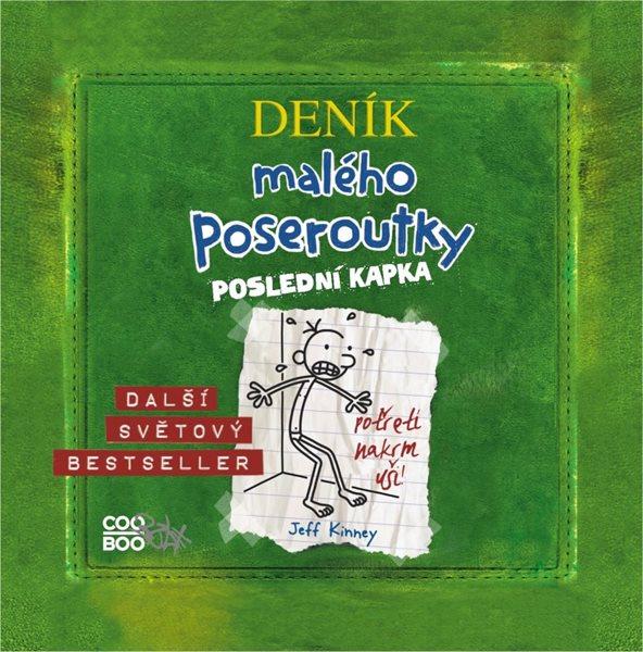 CD Deník malého poseroutky 3 - Jeff Kinney, Václav Kopta - 13x14 cm
