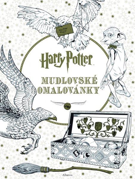 Harry Potter: Mudlovské omalovánky - J. K. Rowlingová - 22x28 cm