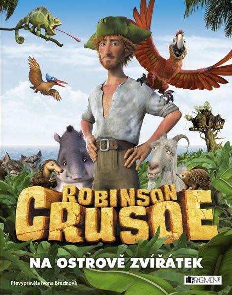 Robinson Crusoe - Na ostrově zvířátek - Ivona Březinová - 22x28 cm