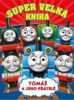 Super velká kniha Tomáš a jeho přátelé - 21x27 cm