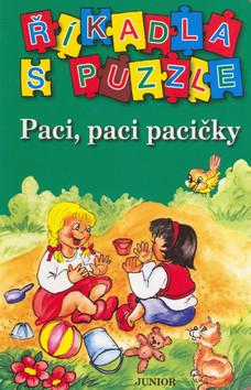 Říkadla s puzzle Paci, paci pacičky - 12x18 cm