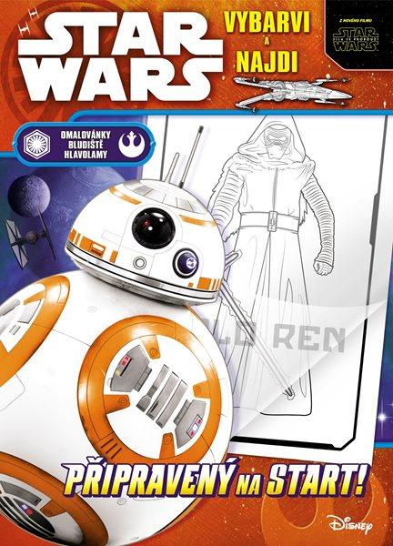 Star Wars – vybarvi a najdi - 20x28 cm
