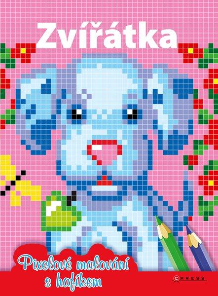 Zvířátka - Pixelové malování s hafíkem - 21x28 cm