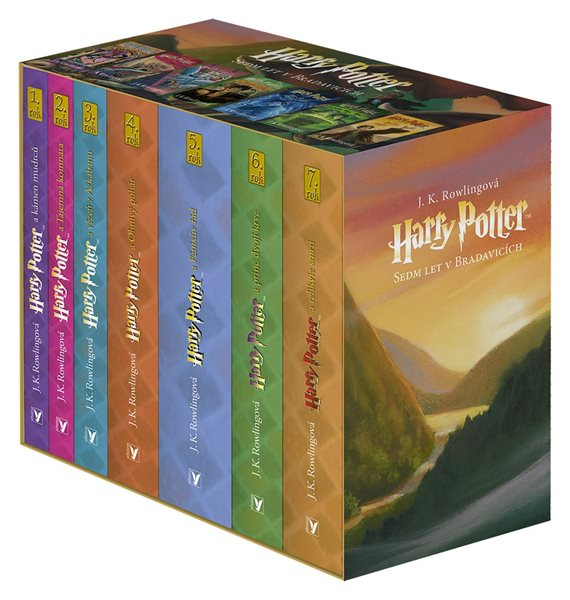 Harry Potter box 1-7 - J. K. Rowlingová - 12x20 cm