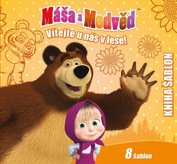 Máša a medvěd Vítejte u nás v lese - 20x24 cm
