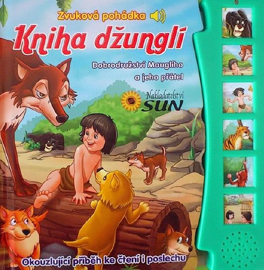 Kniha džunglí - Zvuková pohádka (1) - neuveden - 18,8x19,7