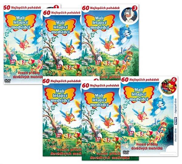 Malí létající medvídci 1. - 1 - 6 / kolekce 6 DVD (1) - neuveden - 14,7x21