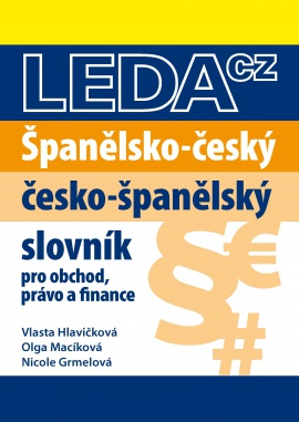 Španělsko-český a česko-španělský slovník pro obchod, právo a finance - 16x22 cm