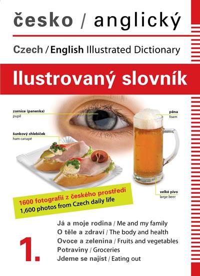 Česko-anglický ilustrovaný slovník 1. - Jana Dolanská Hrachová - 16x22 cm