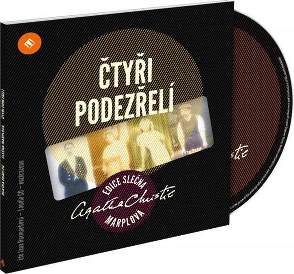CD Čtyři podezřelí - Christie Agatha - 13x14 cm