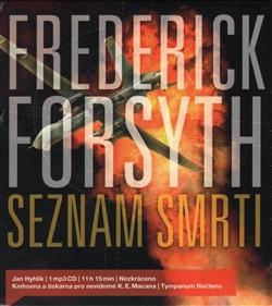 CD Seznam smrti - Forsyth Frederick - 12x13 cm