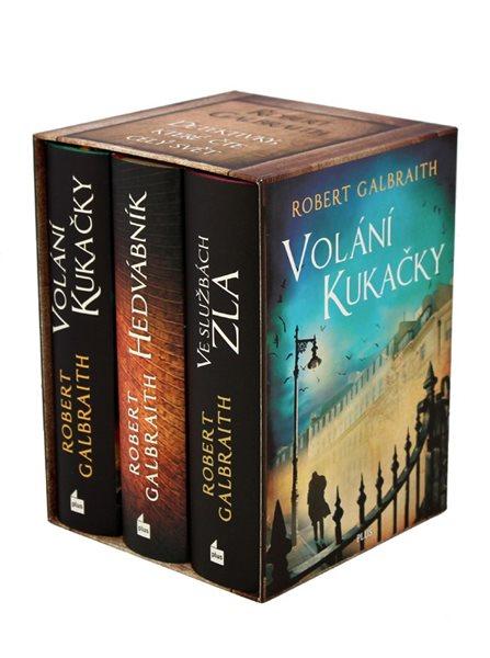 Cormoran Strike BOX - Robert Galbraith (pseudonym J. K. Rowlingové)