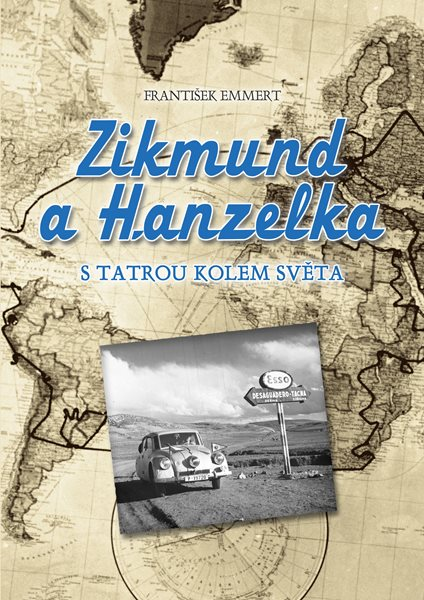 Zikmund a Hanzelka - František Emmert - 21x30 cm