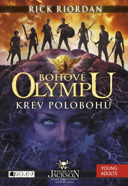 Bohové Olympu – Krev polobohů - Rick Riordan - 15x21 cm