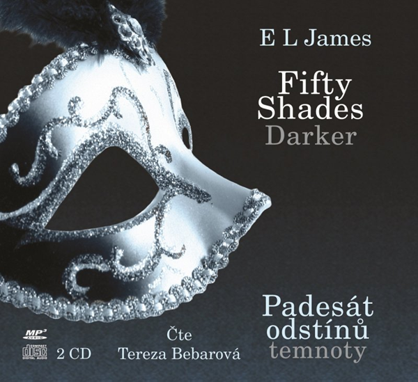 CD Fifty Shades Darker: Padesát odstínů temnoty - E. L. James - 14x13 cm