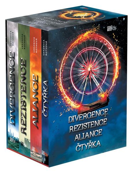 Divergentní trilogie + Čtyřka BOX - Veronica Rothová - 15x21 cm