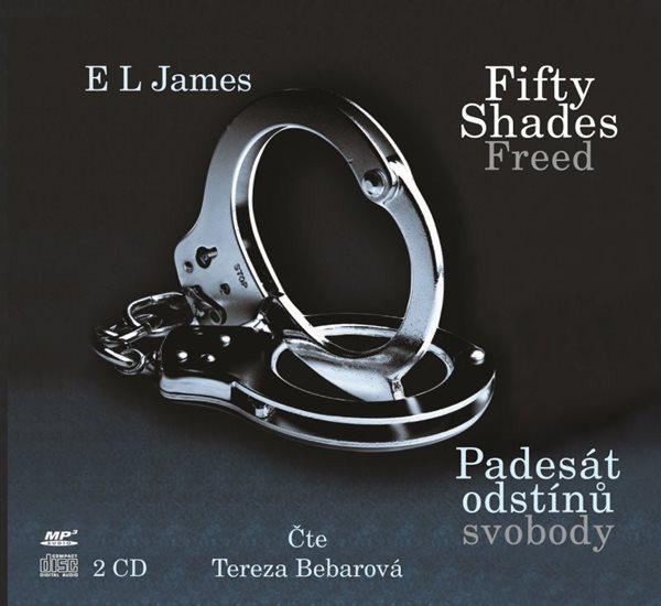 CD Fifty Shades Free Padesát odstínů svobody - E. L. James - 13x14 cm