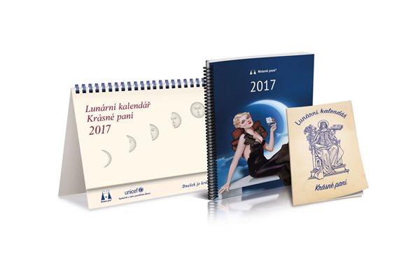 Lunární kalendář krásné paní 2017 - Kanyzová Žofie