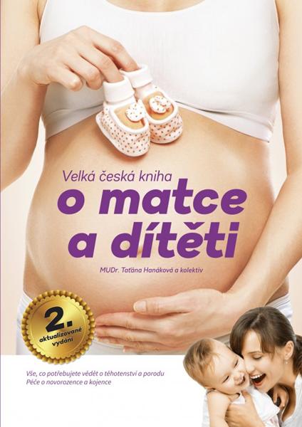 Velká česká kniha o matce a dítěti - Taťána Hanáková, Magdalena Chvílová Weberová, Pavla Volná - 21x30 cm