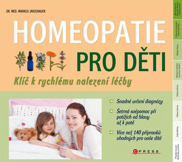 Homeopatie pro děti - Markus Wiesenauer - 21x19 cm