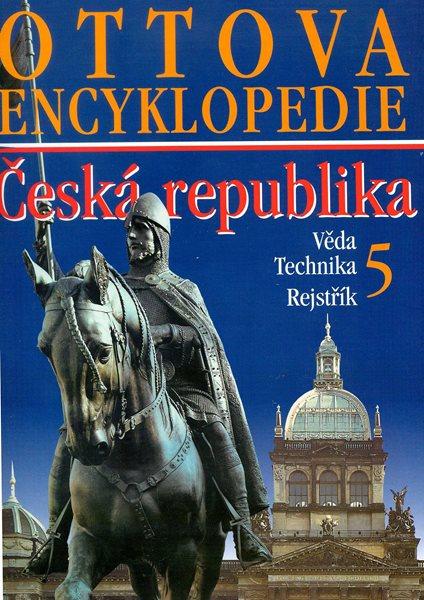 Ottova encyklopedie ČR Věda, Technika, Rejstřík - 24x30 cm, Sleva 92%