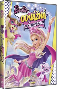 DVD Barbie: Odvážná princezna
