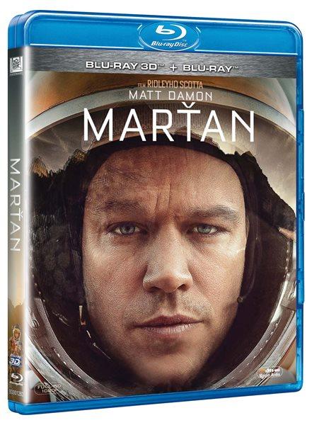 Marťan 2D + 3D Blu-ray - Ridley Scott