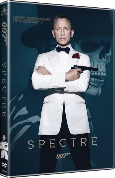 DVD JAMES BOND 24: Spectre - Sam Mendes