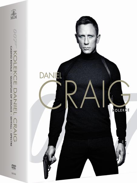 James Bond - Daniel Craig kolekce 4 DVD - Martin Campbell, Marc Forster, Sam Mendes