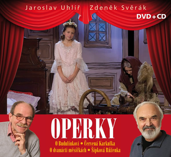 Svěrák, Uhlíř: Operky CD + DVD - Svěrák Zdeněk, Uhlíř Jaroslav,