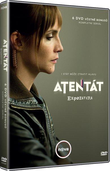 Atentát kolekce 6 DVD - Jiří Chlumský, Petr Nikolaev