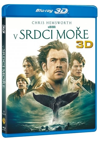 V srdci moře Blu-ray 2D+3D - Ron Howard