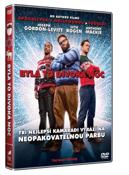 DVD Byla to divoká noc