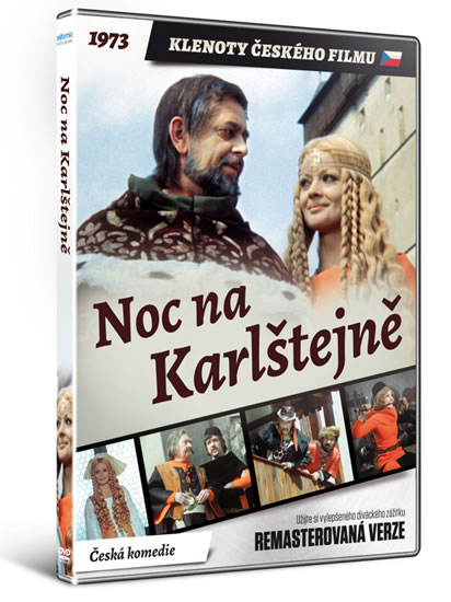 DVD Noc na Karlštejně - edice KLENOTY ČESKÉHO FILMU - neuveden