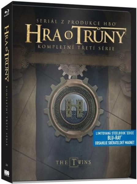 Hra o trůny 3. série 5Blu-ray - steelbook
