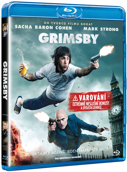 Grimsby Blu-ray - Louis Leterrier