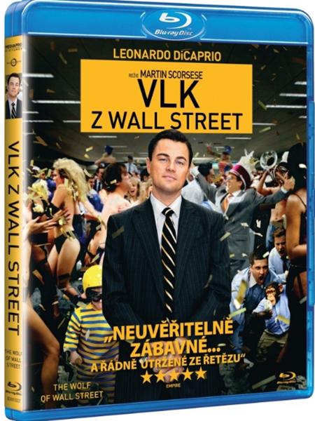 Vlk z Wallstreet Blu-ray