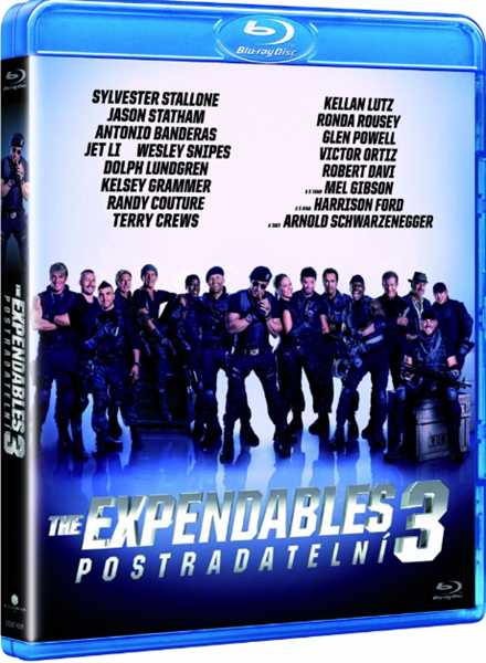 THE EXPENDABLES: POSTRADATELNÍ 3 Blu-ray