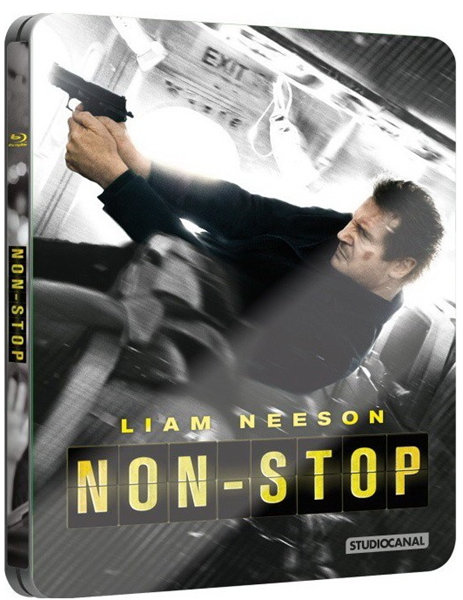 Non-stop Blu-ray Futurepack (limitovaná edice) - Jaume Collet-Serra