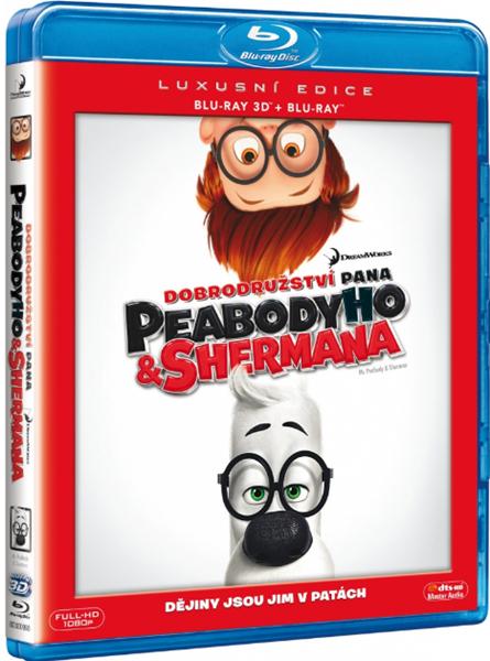 Dobrodružství pana Peabodyho a Shermana Blu-ray 3D+2D