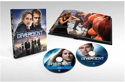 Divergence DigiBook Blu-ray
