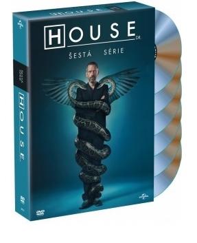 DVD Dr. House 6. série
