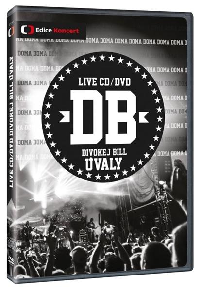 Divokej Bill Úvaly DVD+CD