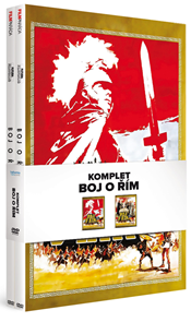 Boj o Řím komplet 2 DVD