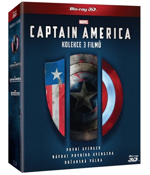 Captain America trilogie 1.-3. (6 Blu-ray 3D+2D) - Anthony Russo, Joe Russo