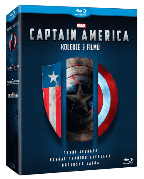 Captain America trilogie 1.-3. (3 Blu-ray) - Anthony Russo, Joe Russo